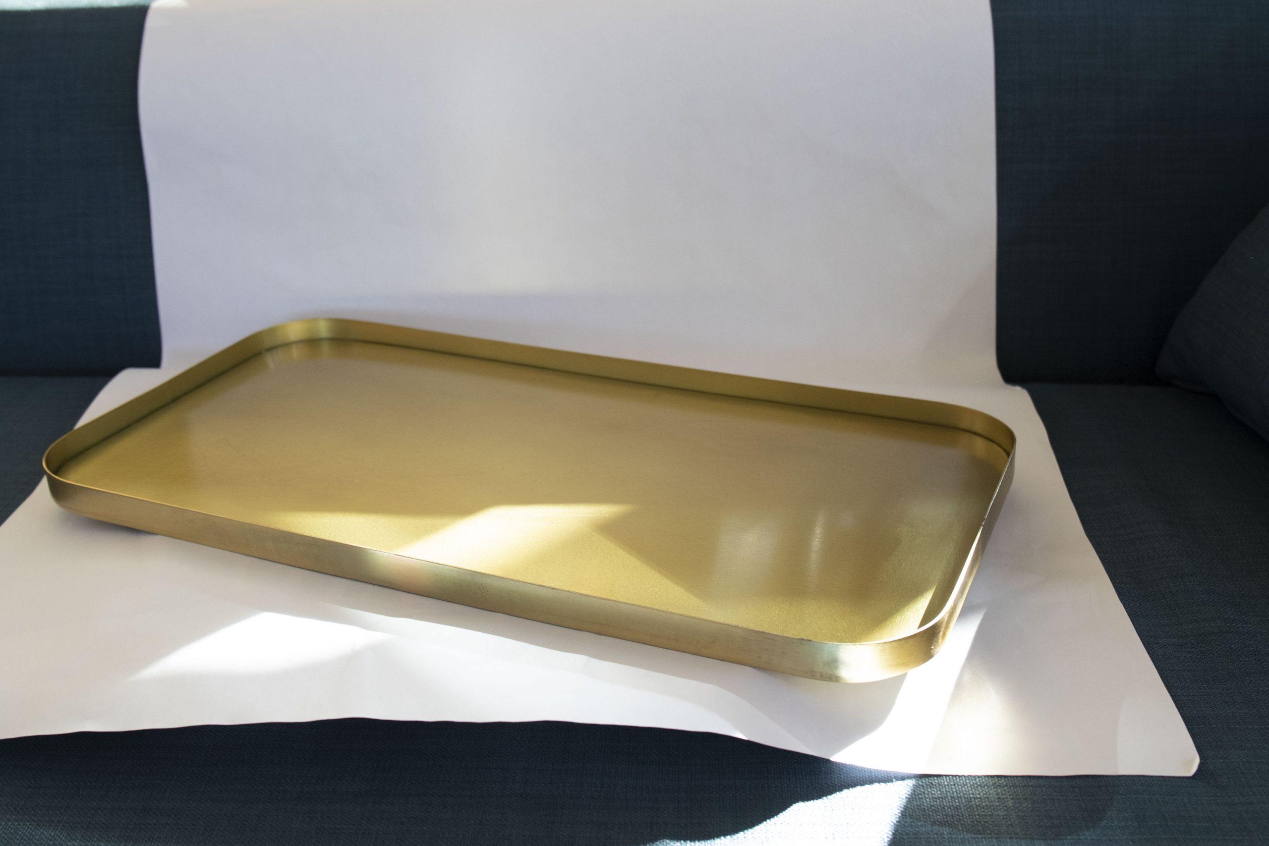 Tray Brass Metal