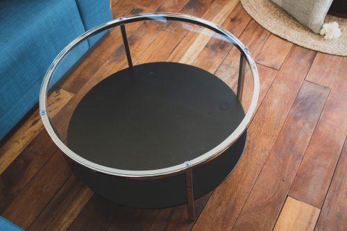 Metro coffee table- chrome