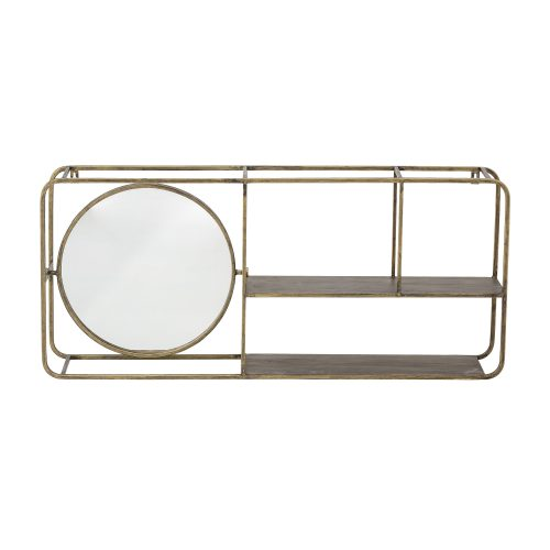 Mirror w/Shelf
