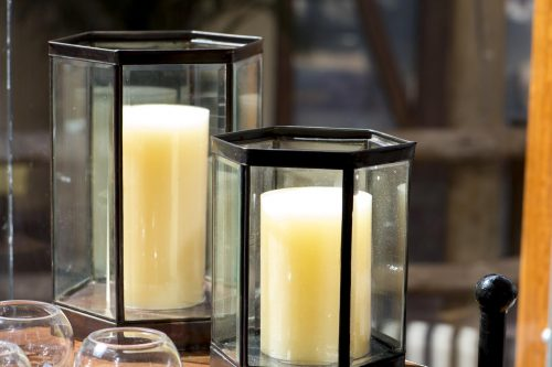Accessories paraffin candles
