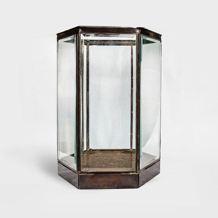 Brass Candle Lantern Clara Large