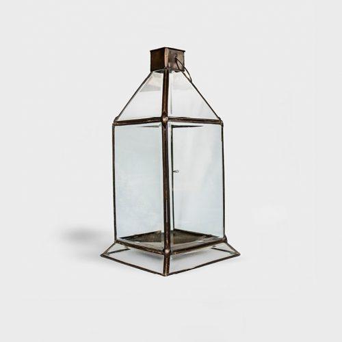 Brass Candle Lantern Elizabeth Large