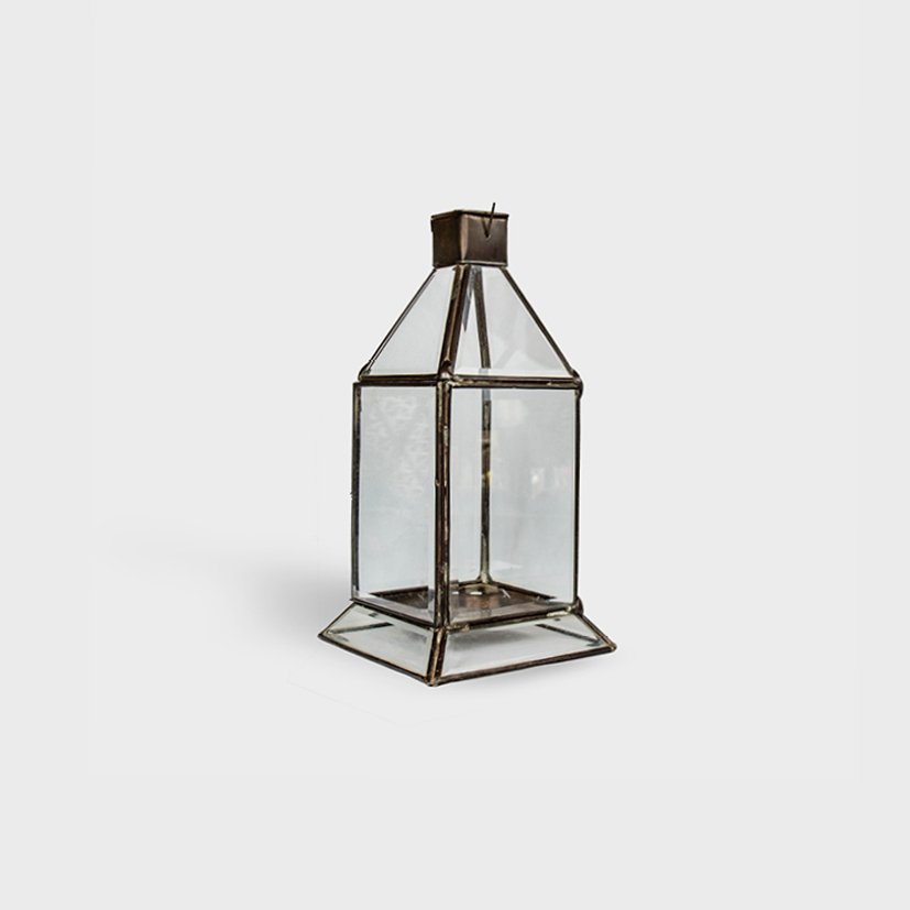 Brass Candle Lantern Elizabeth Small