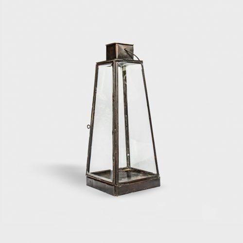 Brass Candle Lantern Sophia Small