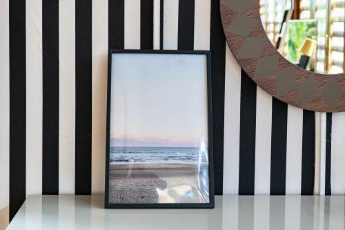 Frame Black MDF Ocean