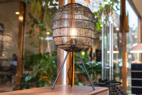 Table lamp, Black, Metal