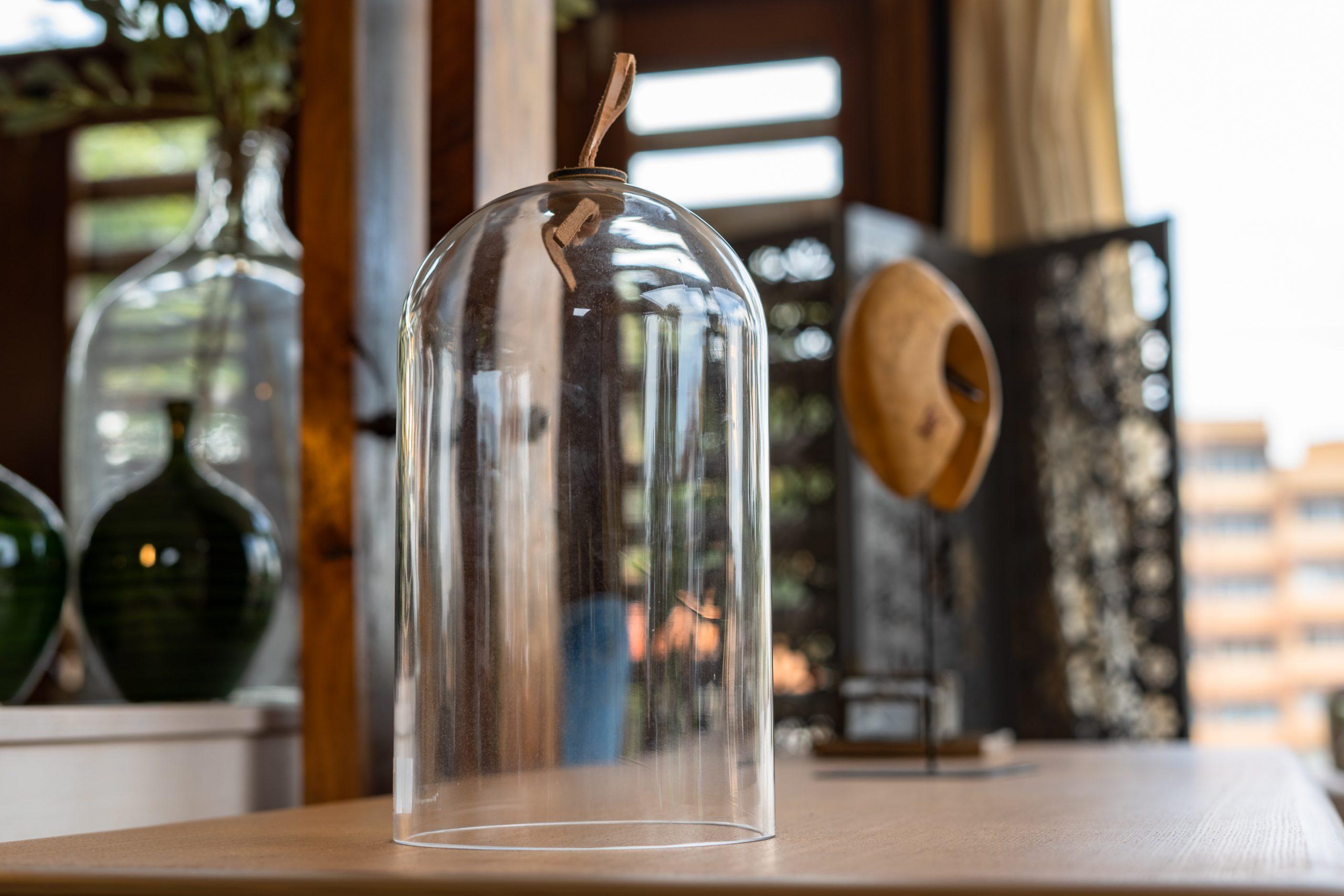 Deco Dome, Clear, Glass