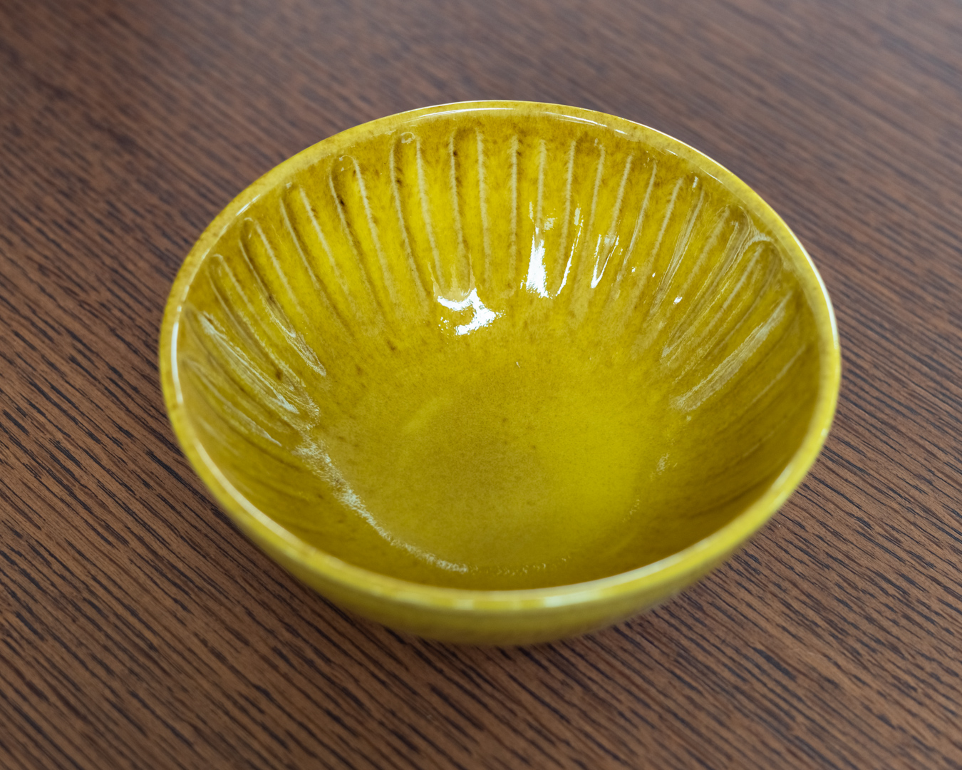 Cala Bowl, Yellow, Stoneware