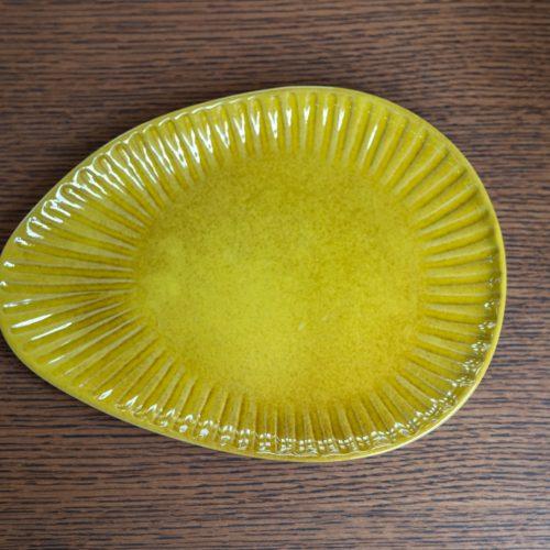 Cala Plate, Yellow, Stoneware small