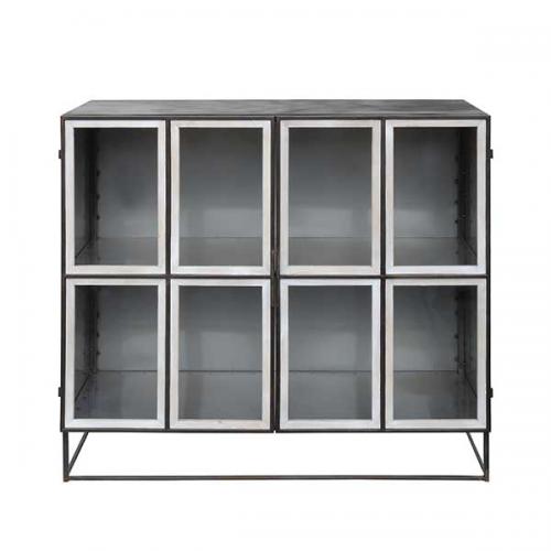 Mollie Cabinet, Black, Metal