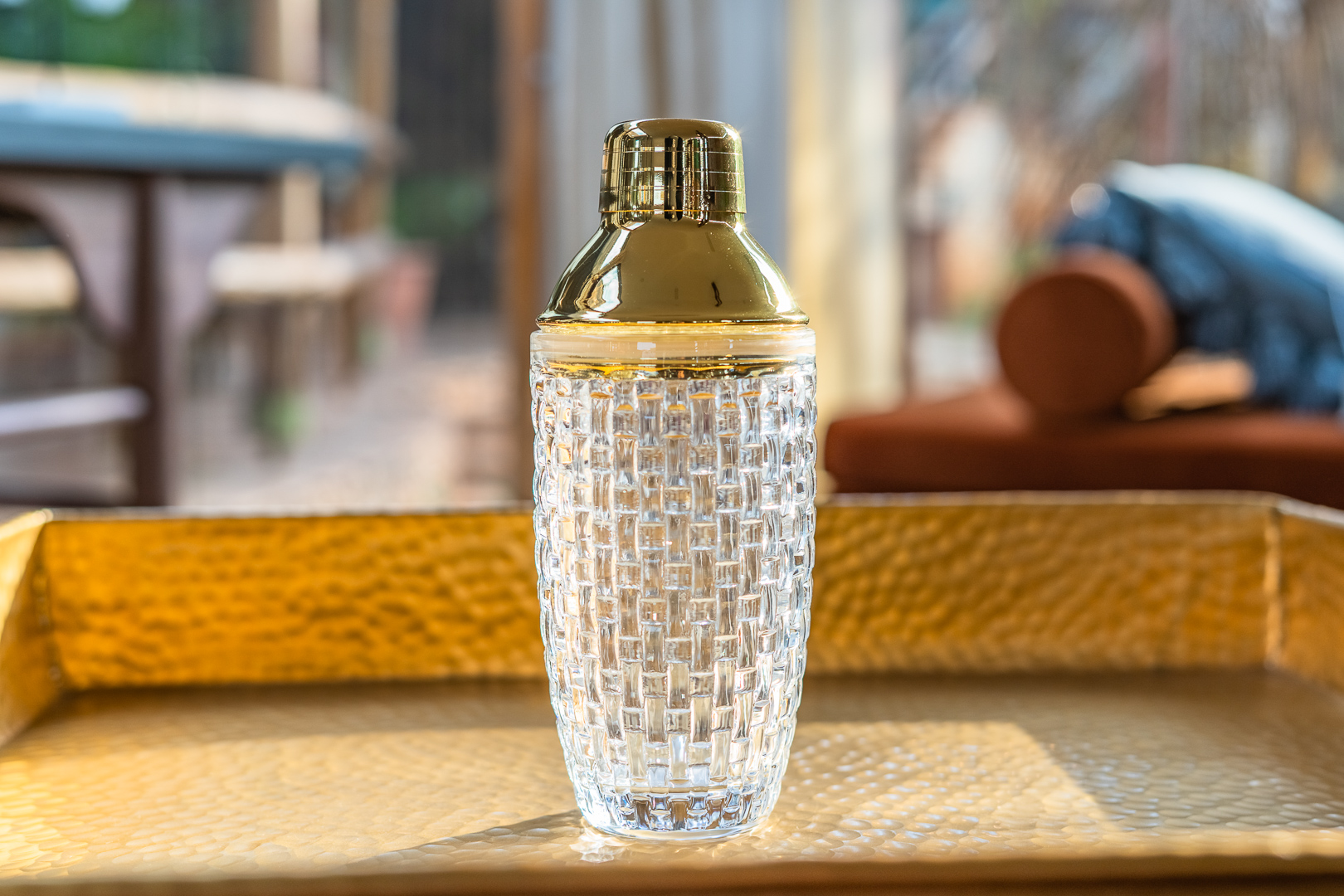Cocktail Shaker, Clear, Glass
