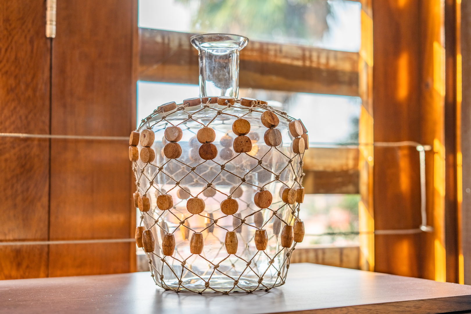 6345 Vase, Clear, Glass