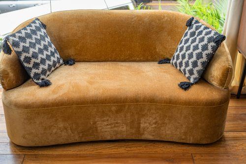 Coli Sofa, Brown, Polyester