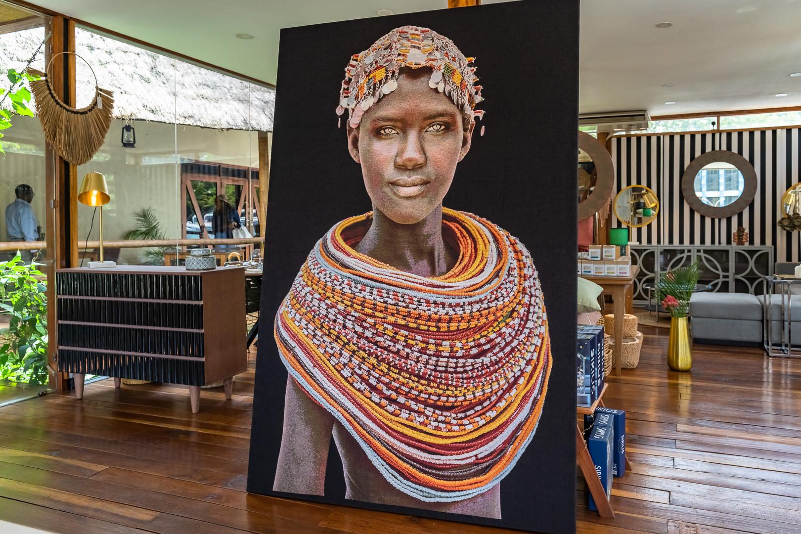 Samburu Girl Wall Hanging