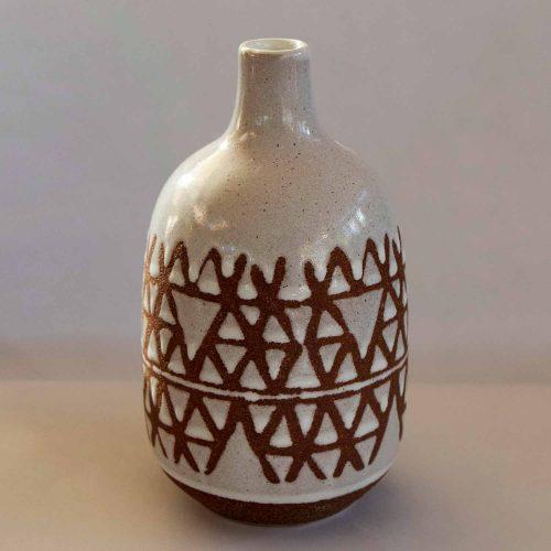 Vase, White, Stoneware