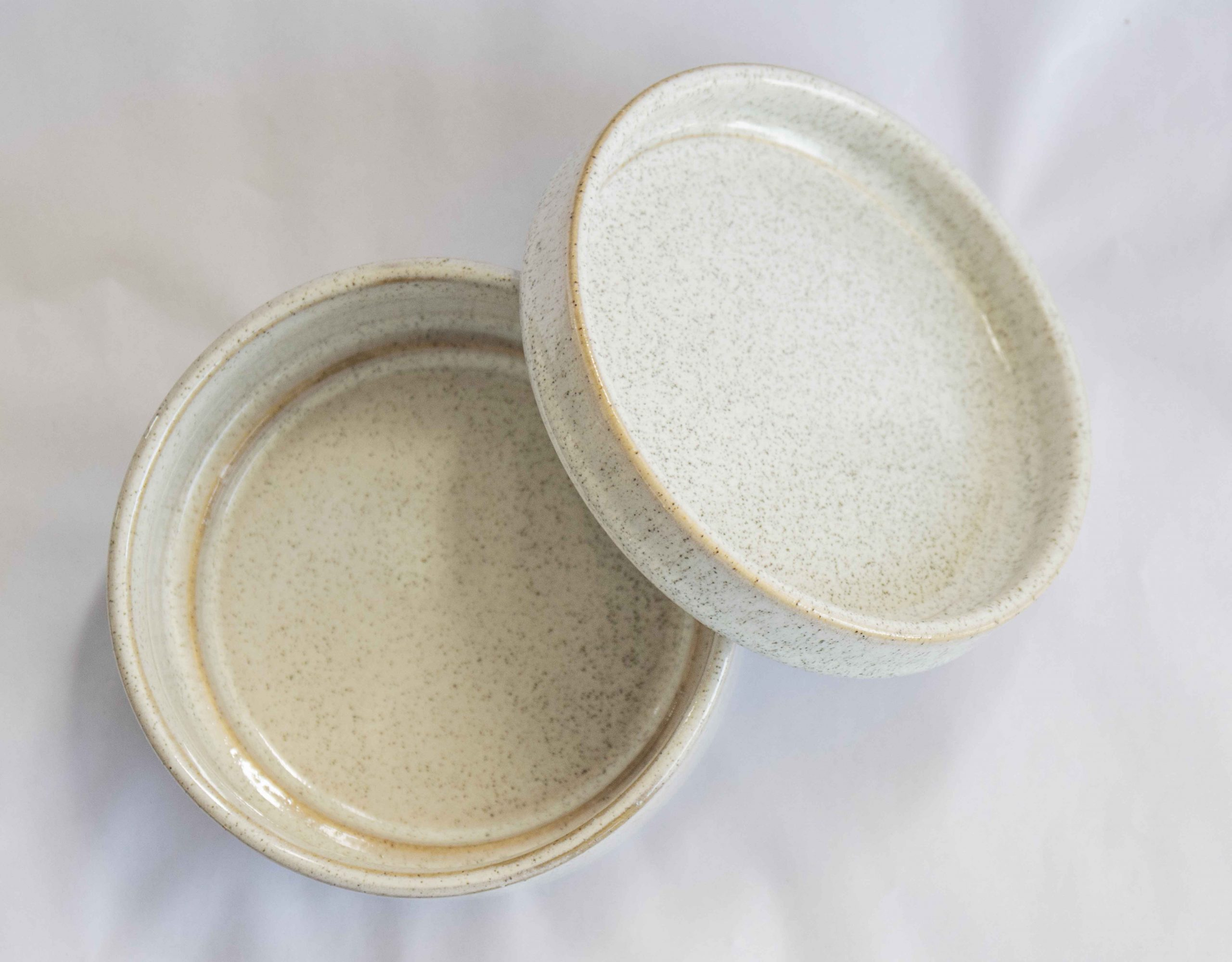 Addison jar with lid multi-color
