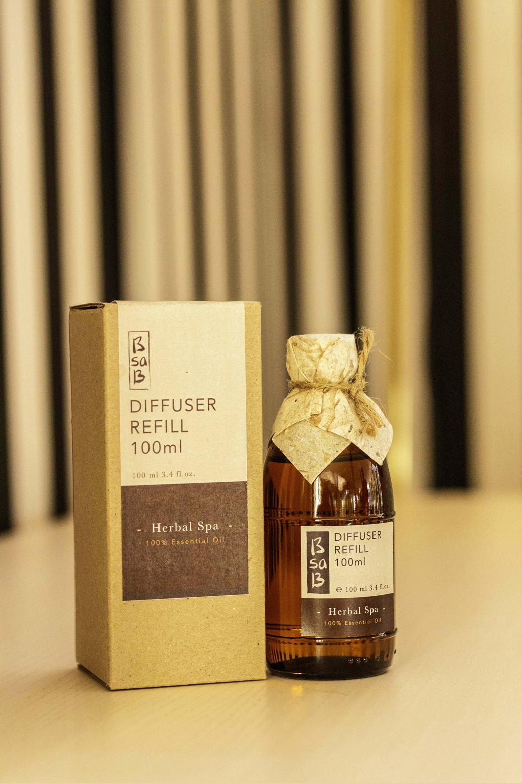 Diffuser refill 100ml essential oil