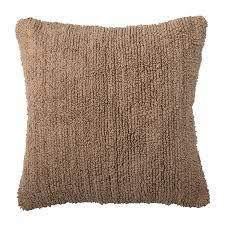 Cushion, Brown, Cotton