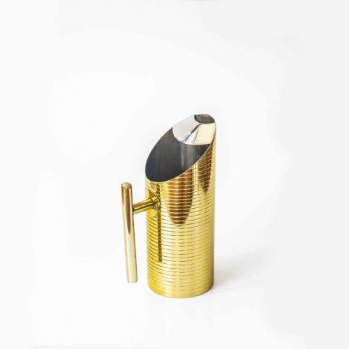 Jug gold steel