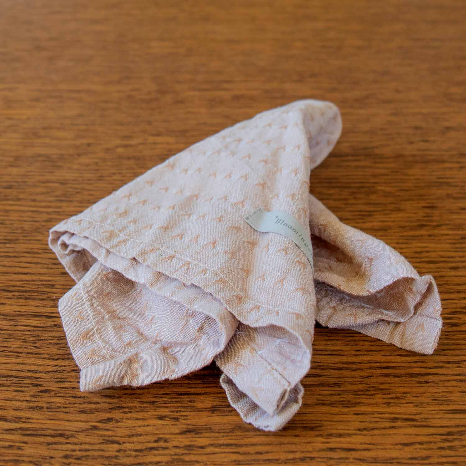 Napkin brown cotton @packet with 4 napkins