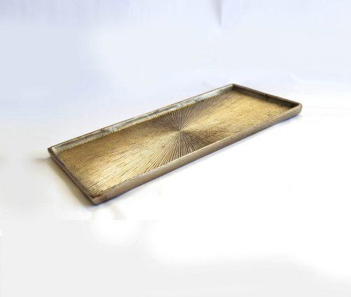 tray grey aluminum