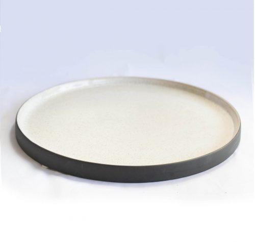 Tray nature stoneware