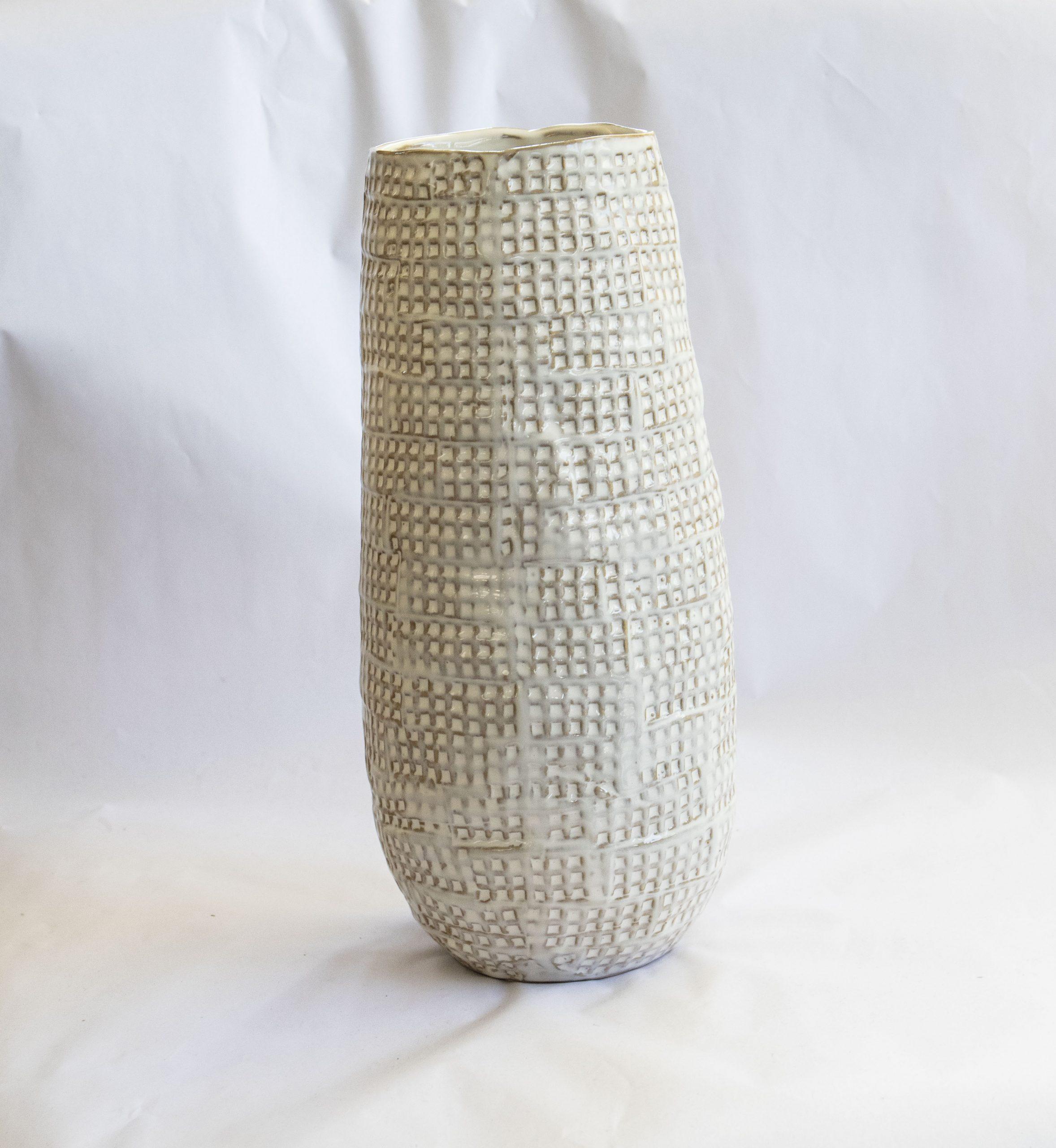 vase nature stoneware tall