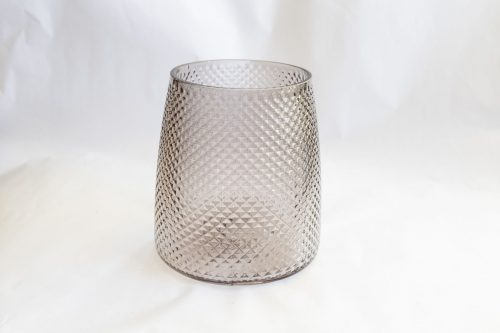 votive grey glass